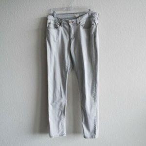 Eileen Fisher Gray Skinny Jeans Women's Size 12
